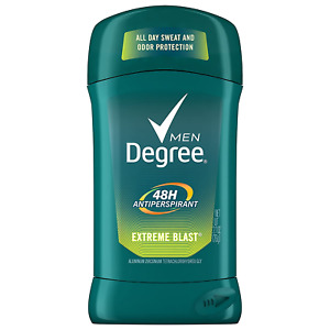 Degree Men Dry Protection Antiperspirant Deodorant, Extreme Blast 2.7 oz,  (P...