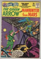 Brave and Bold #50 November 1963 VG- Green Arrow, Martian Manhunter
