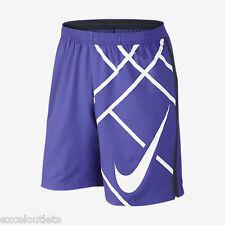 "NWT! Nike 9"" Court Graphic Men's Tennis Shorts Size XL 645053 518 (#2664)"