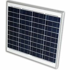 Panneau Solaire Module Solaire Photovoltaïques 50W Wohmobil Bateau Caravane
