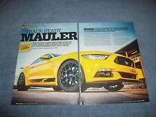"2015 Mustang Steeda Q650 Info Article ""Track-Ready Mauler"""
