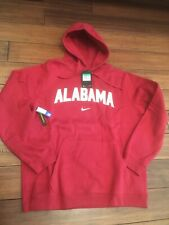 Nike Alabama Crimson Tide Football Thermal Hoodie Size Large Roll Tide