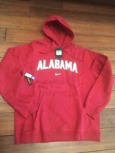 Nike Alabama Crimson Tide Football Thermal Hoodie Size Medium Roll Tide