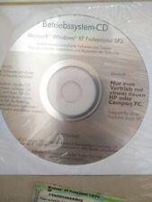 Microsoft Windows XP Professional SP3 Betriebssystem-CD