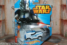 hot wheels 501st clone trooper Star Wars 2014 box