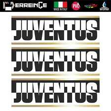 Sticker x3 Juventus Adhesivo Pared Decal Laptop Mural Vinilo Bandera Ultras