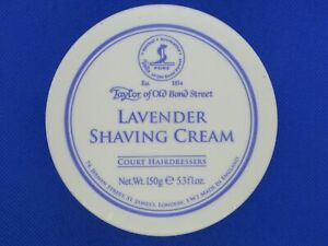 Taylor of Old Bond Street Lavender Shaving Cream , 5.3 oz 150g