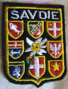 SK2137 - Wappenschild Stoff Patch Ski Savoie