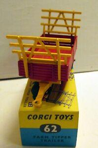 Corgi Toys 62 Farm Tipper Trailer,    original