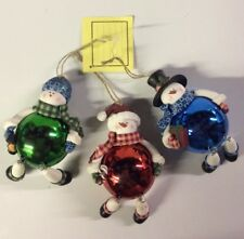 Ragdoll Style Light-up Chrismas Tree Ornament Set (3pcs)