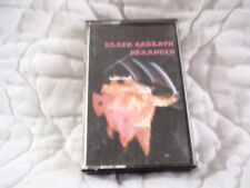 BLACK SABBATH PARANOID CASSETTE NO UPC IRELAND 1976 NEMS PAPER LABELS IRON MAN