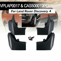 4pcs Front & Rear MudFlap Guard Set Kit For Land Rover Discovery 4 2010