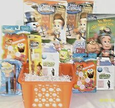New Jimmy Neutron easter toy Gift Basket Birthday Playset Gift Set Toys playset