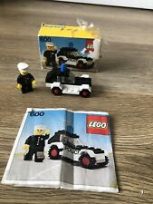 Lego 600 Vintage Police Car. 100% complete in Original box with Instructions.