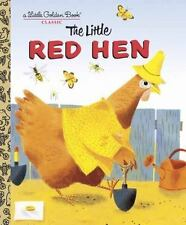 The Little Red Hen: A Favorite Folk-Tale hardcover a Little Golden Book Kids
