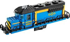 LEGO Train Blue Engine Cargo Locomotive BODY ONLY City Railway Set 60052 NEW