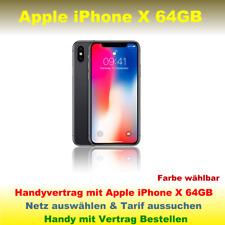 Handyvertrag mit Handy Apple iPhone X 64GB Smartphone Handy mit Vertrag Tarif