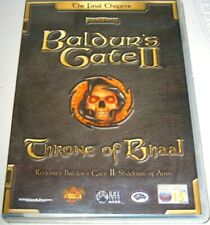 Baldur's Gate 2: Throne of Bhaal (Add on) (PC: Mac and Windows, 2001) - European