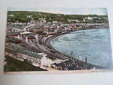 Vintage Colour Postcard Larne, Co. Antrim Northern Ireland Franked+Stamped 1905