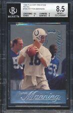 1998 Playoff Prestige 165 Peyton Manning Retail RC Rookie BGS 8.5