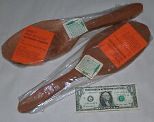 """2 Rare ADCO Pre-Sealed 15"""" Spoons Tole Painting California Redwood Board Plaques"""