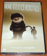 DONDE VIVEN LOS MONSTRUOS Where the Wild Things Are - English Deutsch Español R2