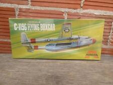 vintage NEW 1972 Aurora Fairchild C-119G Flying Boxcar Model Airplane Plane Kit