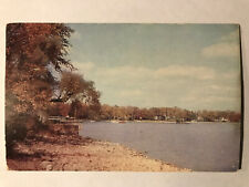 Village of Skaneateles, New York NY Postcard - Postmarked July 1, 1955