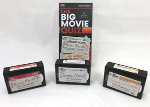 The BIG MOVIE QUIZ Game: Suitable for ages 12+Years: Comedy, Action, Oscar Quiz