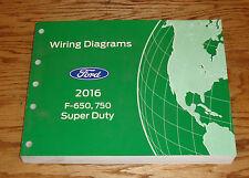 Original 2016 Ford F-650 F-750 Super Duty Wiring Diagrams Manual 16