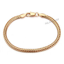FREE Gold Filled Unisex Women Bracelet Chain Fashion bracelet Bangle Jewelry