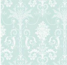 LAURA ASHLEY Josette Duck Egg Wallpaper w082588 a/1