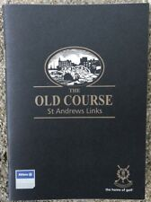 OFFICIAL ST. ANDREWS (THE OLD COURSE) YARDAGE GUIDE GOLF -NEW FREE SHIPPING