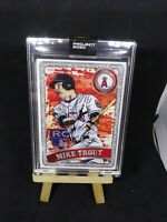 TOPPS PROJECT 2020 #100 2011 #US175 MIKE TROUT RC by BLAKE JAMIESON