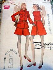 LOVELY VTG 1960s DRESS & JACKET BUTTERICK Sewing Pattern 10/32.5