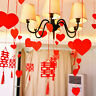 Valentine's Day Hanging Decor - Hanging Swirls Banner Ceiling Foil Cards Decor