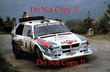 Henri Toivonen Martini Lancia Delta S4 Tour De Corse Rally 1986 Photograph 2