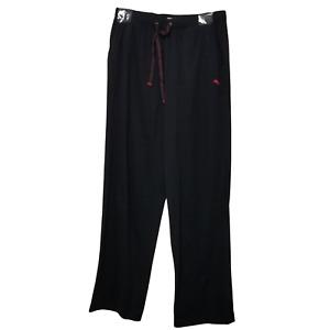 Mens Tommy Bahama Cotton Polyester Lounge Pants (Medium) Black F6770