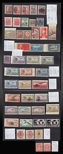 1915 - 1930  MEXICO LOT POSTAGE + AIR NEVER HINGED ONE NO GUM   SCT. VALUE 93