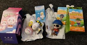 POP MART The Monsters Camping CHOPPING WOOD & Bobo & Coco Wanderlust SHALLOW SEA