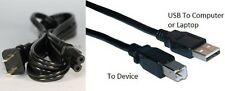 USB Cable +Power Cord for Canon Pixma MG2420 MG2922 MG2924 MG3520 MG3522 Printer