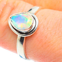 Ethiopian Opal 925 Sterling Silver Ring Size 9.25 Ana Co Jewelry R52515F