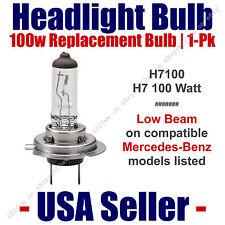 Headlight Bulb Low Beam 100 Watt Upgrade 1pk Fits Select Mercedes-Benz - H7 100