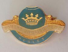 Henley Womens Bowling Club Badge Pin Royal Crown Lawn Bowls (K1)