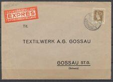 50 CT.HARTZ NR.488 OP EXPRESSE COUVERT EINDHOVEN- ZWITSERLAND 23.VIII.1947 Zv853