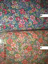 COUNTRY FLORAL FABRIC BY THE BOLT 15 YARDS LARGE VARIETY AVAILABLE