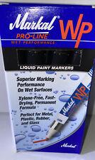 MARKAL 96933 Paint Marker, Permanent, Black Box Of 12 NEW