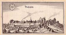 Rosenfeld Baleingen Baden Württemberg Orig. Kupferstich M. Merian 1650
