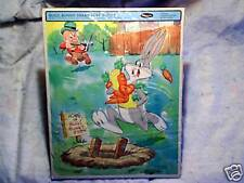 1966 BUGS BUNNY Tray Puzzle elmer fudd,stealing carrots,whitman