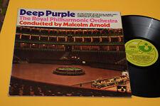 DEEP PURPLE LP LIVE CONCERT 1°ST ORIG ITALY 1969(12-12-69)EX+ GATEFOLD LAMINATED